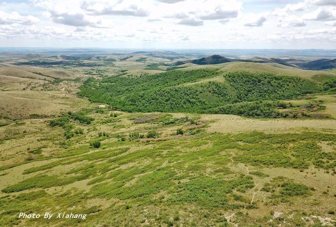 不插电房车之旅,自驾去内蒙古,看蒙古高原壮丽的火山群