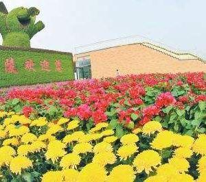 鄢陵国家花木博览园旅游景点攻略图