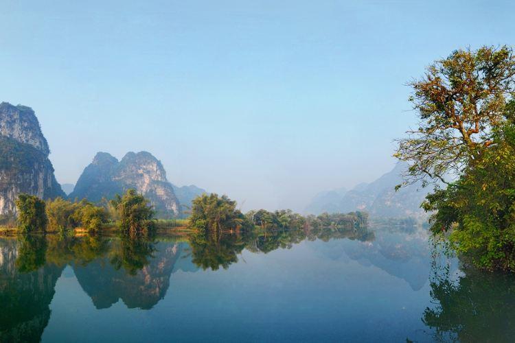 Anpingxianhe Sceneic Area4