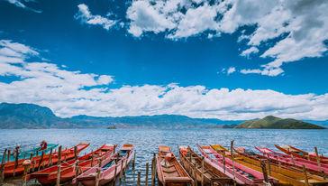 猪槽船游湖(大落水码头)