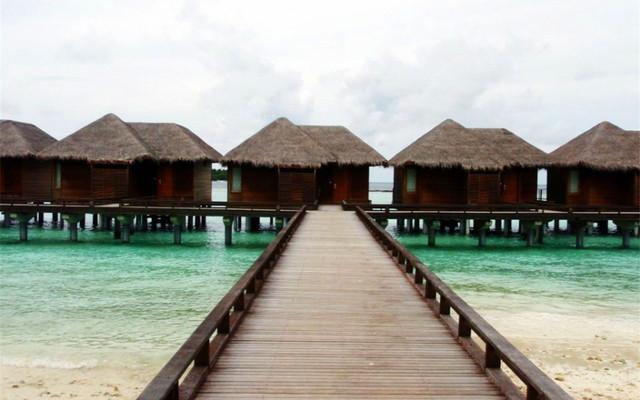 小天独家,心随马尔代夫的海水荡漾