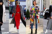 今年秋季伦敦纽约街头最好看的20套时尚穿搭,你学会穿了吗?