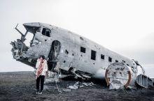 解锁孤独星--冰岛黑沙滩飞机残骸