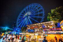 曼谷摩天轮夜市,最浪漫的夜市