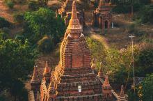 东南亚秘境,万塔之国缅甸蒲甘的迷人日出
