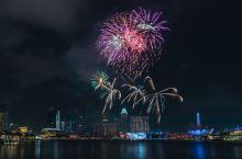 在新加坡偶遇他们的国庆节,烟花也是超浪漫了