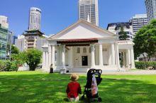新加坡牛车水街道 市区一日游,很多教堂和老建筑。 酒店周边有网红邮局。