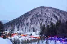 咱们大东北也有漂亮的雪景-滑雪胜地GET