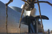 仿佛就像是一座艺术品的博物馆,一定不要错过 毕尔包古根汉博物馆坐落在西班牙,这座博物馆的外观特别奇特