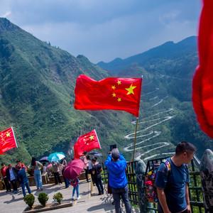 晴隆游记图文-抗战生命线,中国十大最美公路 / 贵州晴隆二十四道拐景区