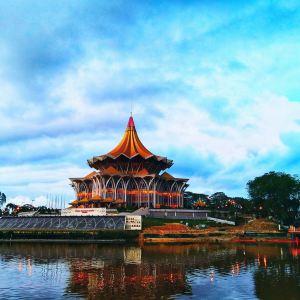 古晋河滨公园旅游景点攻略图
