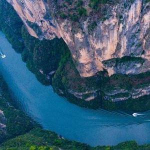 巫山小三峡旅游景点攻略图