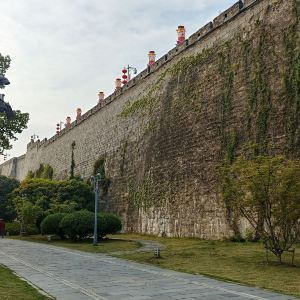 南京城墙旅游景点攻略图