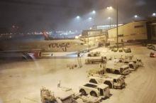 偶遇大雪中的蒙特利尔