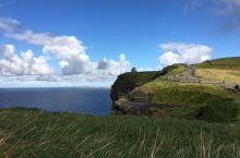 爱尔兰莫赫悬崖的彩虹!