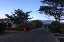 蓝的天、豪的墅、翔的鸟、挂的巢、清的气、傍的夕-安逸的非洲