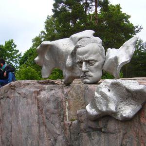 西贝柳斯纪念碑旅游景点攻略图
