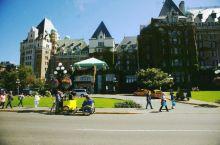 温哥华岛,在女王大饭店四周溜达