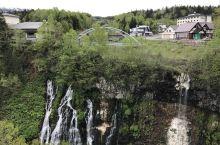 白金温泉附近的白须瀑布