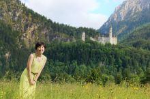 跟着周董婚纱照远眺新天鹅堡