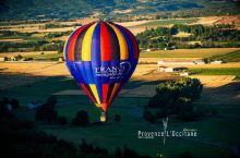 热气球之旅,漂浮在普罗旺斯上空