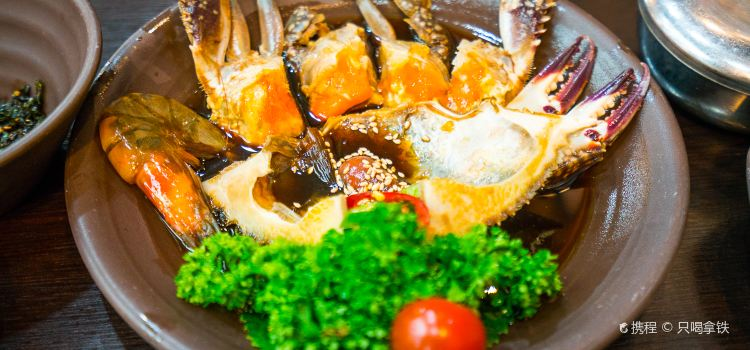咸草醬蟹1