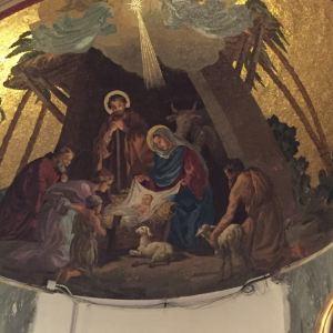 庞贝玫瑰圣母堂旅游景点攻略图