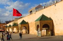 多彩摩洛哥8—黄色的梅克内斯
