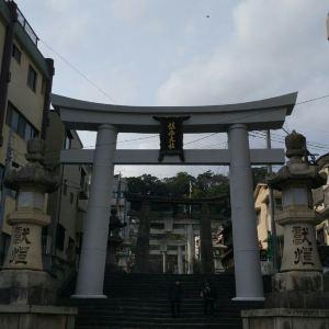 镇西大社诹访神社旅游景点攻略图