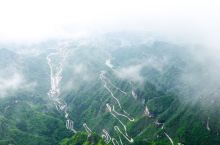 张家界天门山迷雾之旅,遇见不一样的天门山