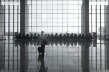 旅途拾景,摄于安徽合肥南站