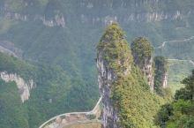 湘西矮寨景区之悬崖玻璃栈道
