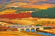这个把汉语纳入高考、签证好办的欧洲国家,有条跨8个时区的绝美赏秋铁路!