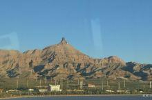 甘德尔山上的成吉思汗像