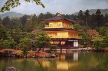金碧辉煌的金阁寺