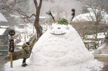 飞驒之里,下着雪的下吕温泉