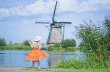 风车转动的童真之地:荷兰小孩提防
