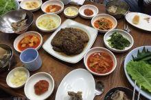 #元旦去哪玩 韩国光州 松汀牛肉饼街