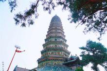 雍正帝亲笔题写的匾额就在山西的广胜寺