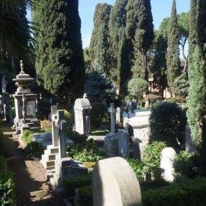 新教徒墓园旅游景点攻略图