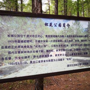 松苑原始森林公园旅游景点攻略图