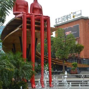 南宁游记图文-南宁也有红砖厂,如今成为拍照圣地