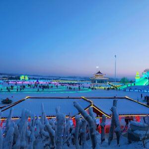 长春冰雪大世界旅游景点攻略图