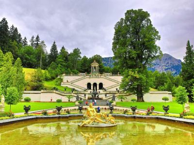 Schlosspark Linderhof
