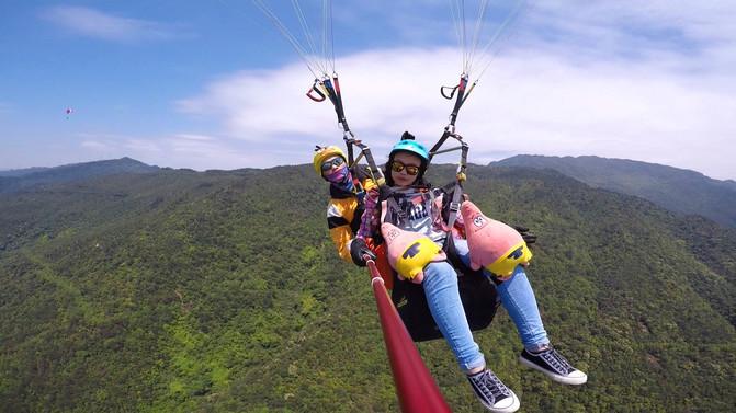 请慷慨地给自己一些放飞自我的时间∣滑翔伞 – 南宁游记攻略插图5