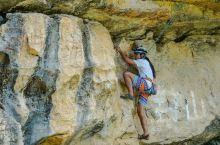 去阳朔必做的事就是攀岩啊!