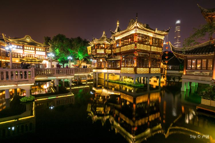 Shanghai City God Temple Tourist Area4