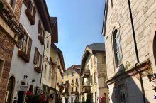 欧洲风情小镇。