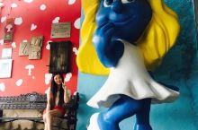 水菱环球之旅の山滴那边💖蓝精灵