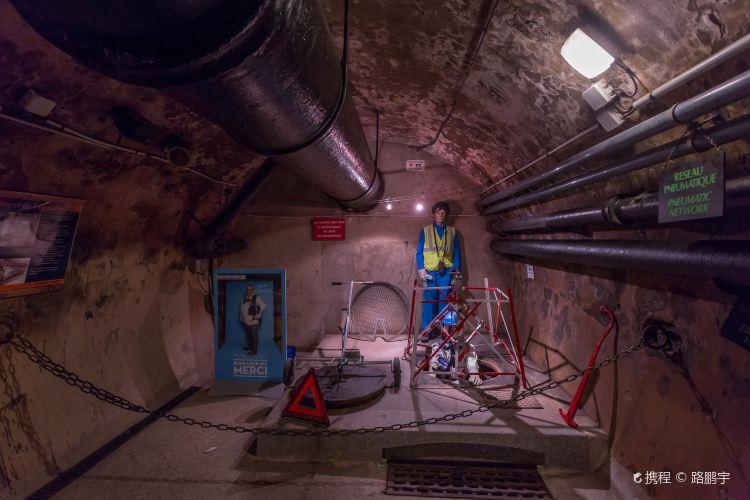 パリの下水道博物館1